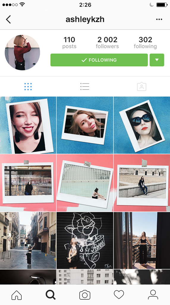 Instagrids Collage - Amazing Layouts Designed for Instagram Profile Page Image